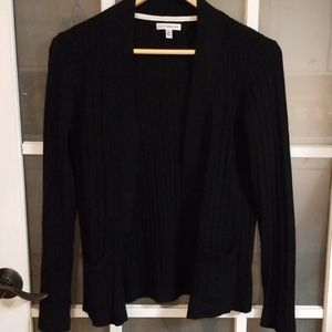 Croft & Barrow cable knit open cardigan